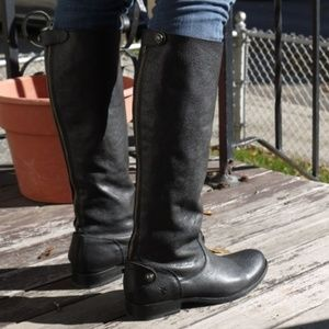 Frye Melissa Button Back Zip Boot 8.5 like NEW